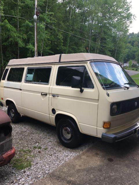 1981 vw vanagon westfalia camper bus