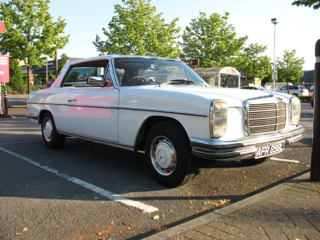 MERCEDES 280CE (W114 CHASSIS RHD) - COUPE / DOUBLE BUMPERS