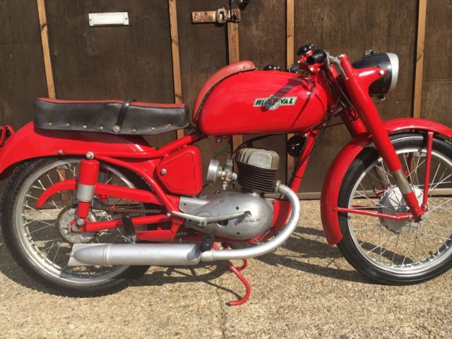 "Rare 1956 Mival 125 Sport Gobbetto ""Hunchback"" very good condition Full NOVA"