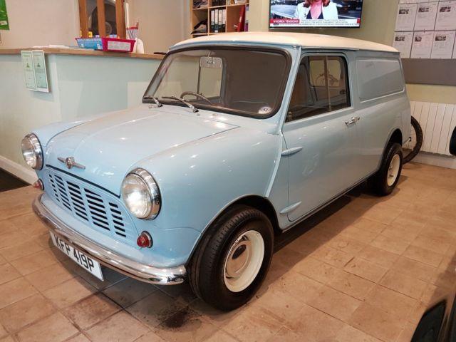 1975 Morris Mini van - Restored