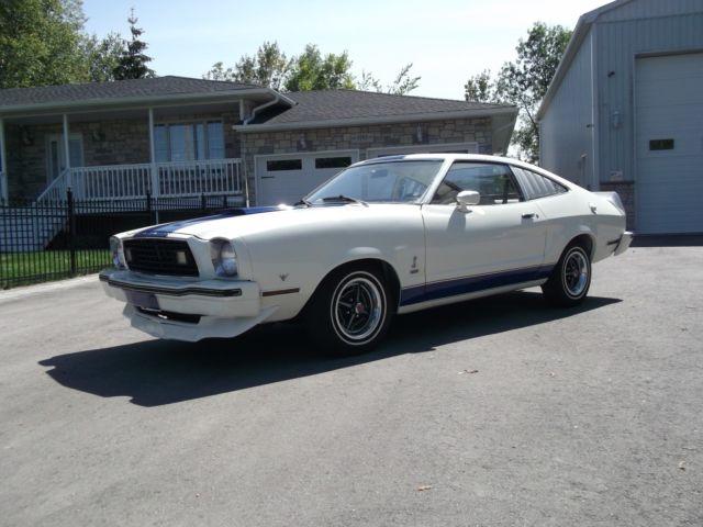 1977 MUSTANG COBRA -V8-302  4-SPEED  22000 ORIGINAL MILES