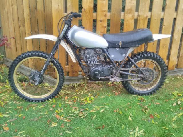 Yamaha XT TT250 3Y3 1980