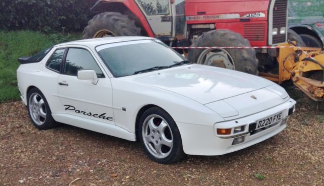1986 Porsche 944 Lux 2 5 Auto White Colour Coded Body Kit 7 Months Mot For Sale Walgrave Northamptonshire United Kingdom Automotoclassicsale Com