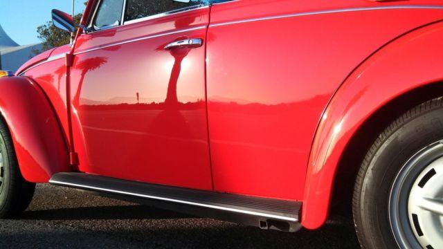1978 Volkswagen Beetle - Classic ragtop