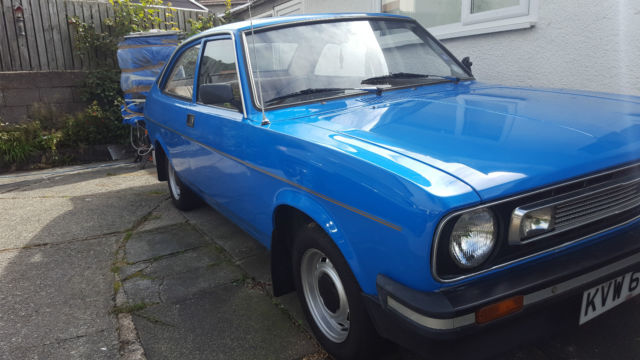 1979 MORRIS MARINA MK3 COUPE 1300 DELUXE BLUE
