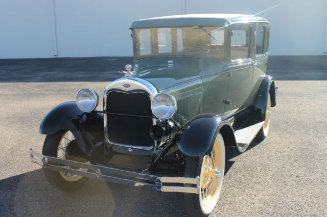 "1929 Model A 4dr Sedan ""Frame Off Restored"" Absolutely Gorgeous"