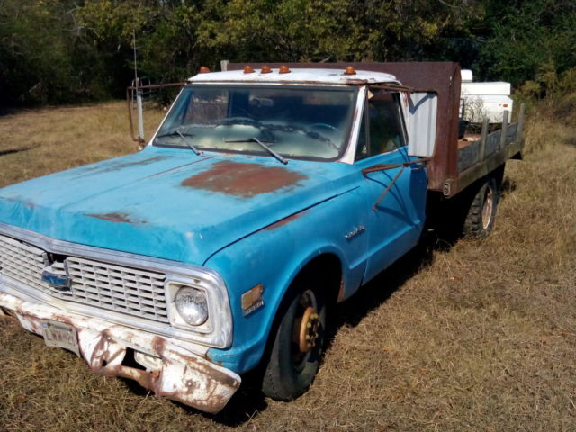 1972 Chevrolet C30 dually steel bed PTO dump