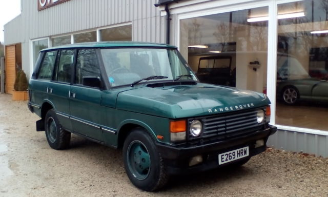 1987 ROVER RANGE ROVER EFI AUTO*LAND ROVER PLUS 1 LADY OWNER FROM NEW* NEW MOT *