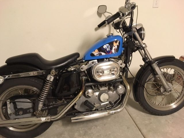 Harley Davidson Vintage Ironhead Sportster