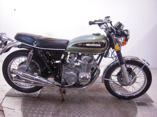 1976 Honda CB550K Unregistered US Import Barn Find Classic Restoration Project