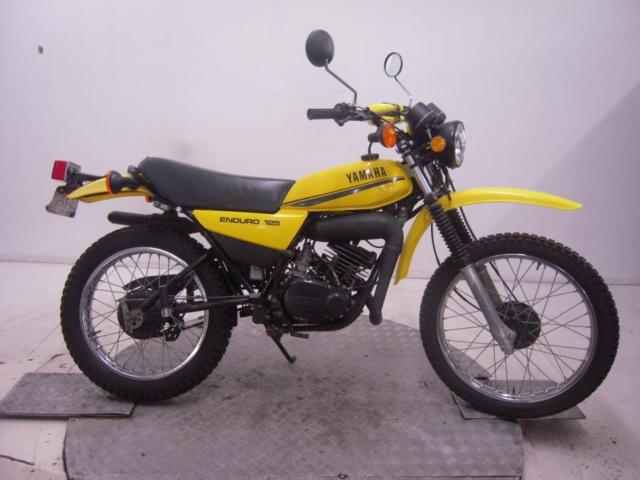 1978 Yamaha DT125 Enduro Unregistered US Import Barn Find Classic Restoration