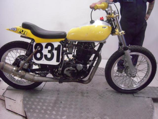 1976 Yamaha TT500C Flat Tracker  Unregistered US Import Barn Find Classic Proj