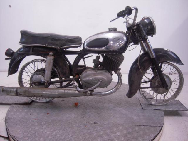 Circa 1959 Zundapp 250 Super Sabre Unregistered US Import Barn Find Restoration