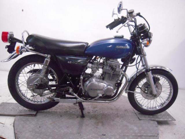 1977 Kawasaki KZ400-D4 Unregistered US Import Barn Find Classic Restoration Proj