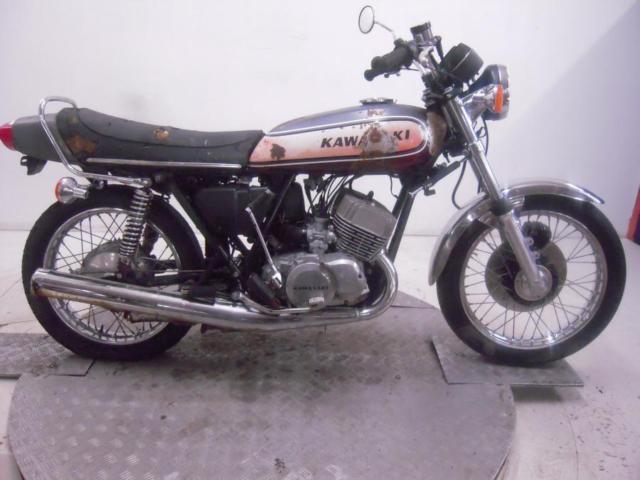 1974 Kawasaki H1E 500 Mach III Unregistered US Import Barn Find Classic Restore