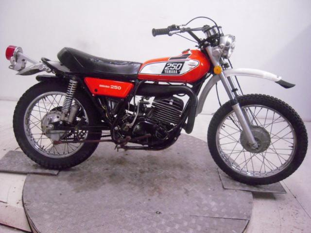 1974 Yamaha DT250B Unregistered US Import Barn Find Classic Restoration Proj