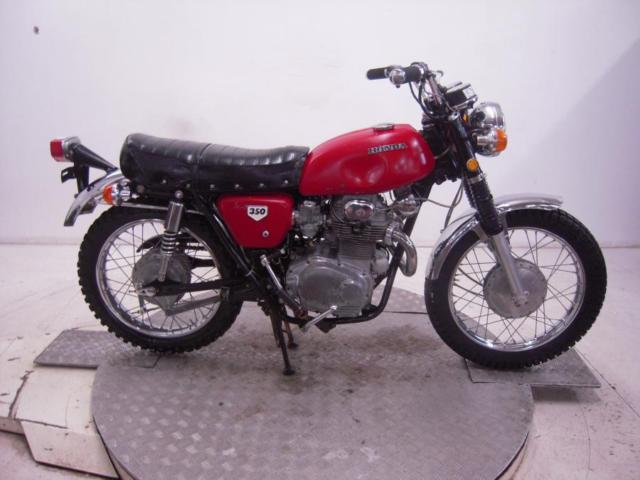 1971 Honda CL350K2 Unregistered US Import Barn Find Classic Restoration Project