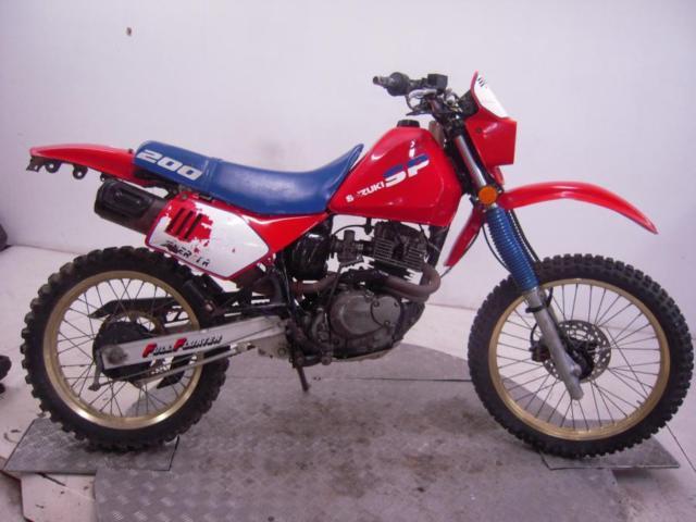 1987 Suzuki SP200H Enduro Unregistered US Import Barn Find Classic Restoration