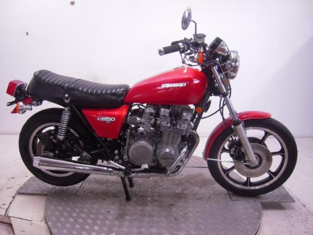 1978 Kawasaki KZ650D1 SR650 Unregistered US Import Barn Find Classic Restore
