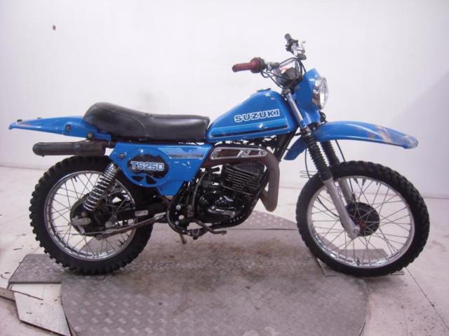 1981 Suzuki TS250X Unregistered US Import Barn Find Classic Restoration Project
