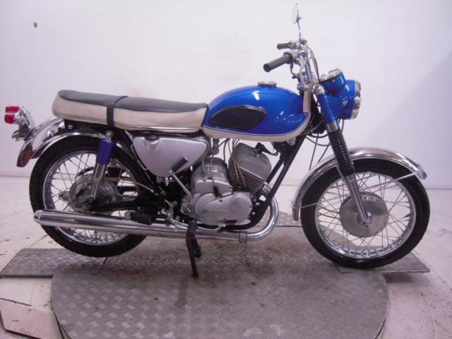 1968 Kawasaki A1 250 Samurai Unregistered US Import Barn Find Classic To Restore