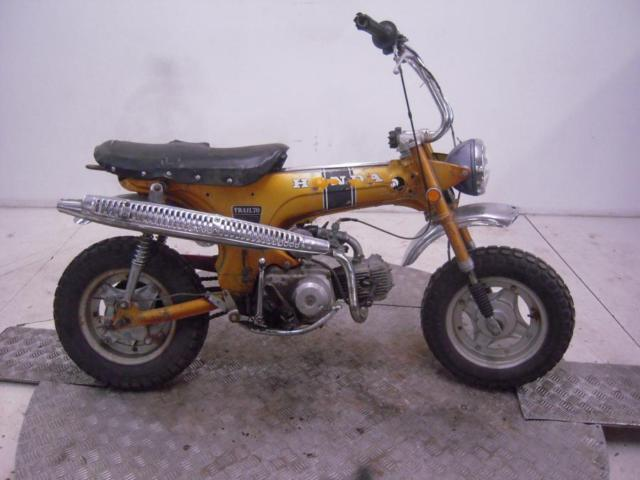 1970 Honda CT70K0 Mini Trail Unregistered US Import Barn Find Classic To Restore