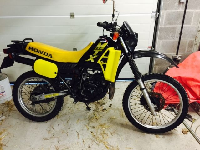 1987 honda mtx 125cc