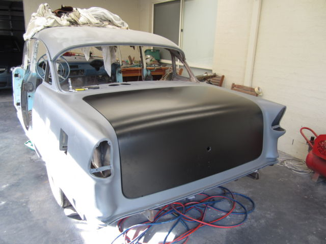 1955 chev belair sedan, project no rust , new panels;