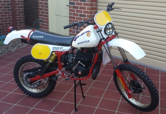 MONTESA H7 250 ENDURO NOT 360