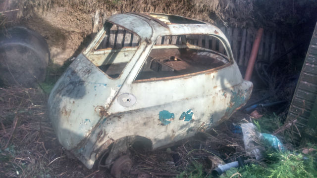 BMW Isetta Bubble car project