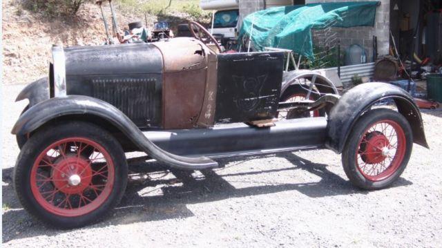 1928 Model A ford , hotrod, restore, rat rod, vintage