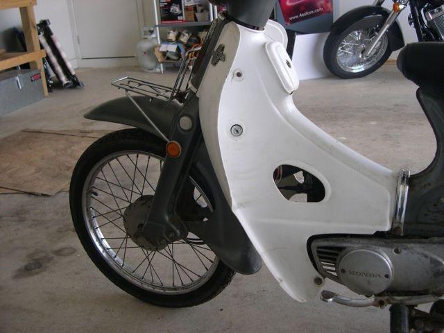 1964 Honda C50 - Project Bike