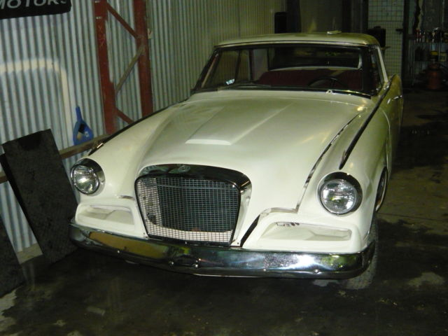 1962 Studebaker Granturismo Hawk - with Power Steering and Bucket Seats!