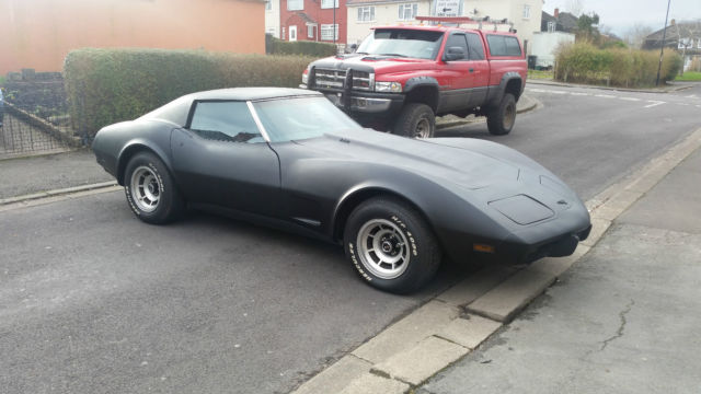 1977 Corvette L82 4 Speed Numbers Matching NO RESERVE