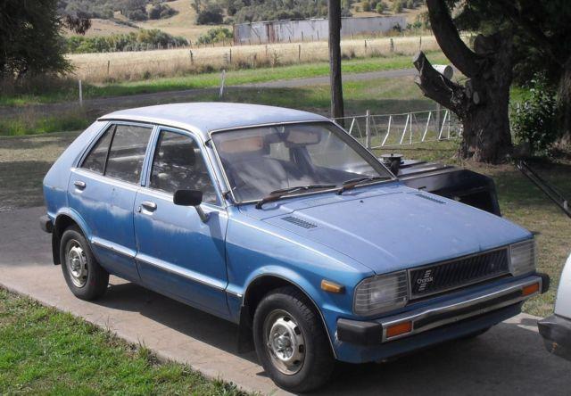 DAIHATSU 1982 CHARADE 5 Speed GEN 1