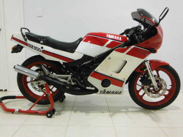 Yamaha RZ350 1986 1WY Code Australian Delivered Rego RWC Matching Numbers