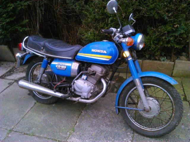 Honda Benly 185