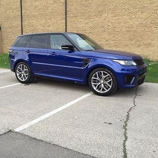 Land Rover : Range Rover Sport SVR