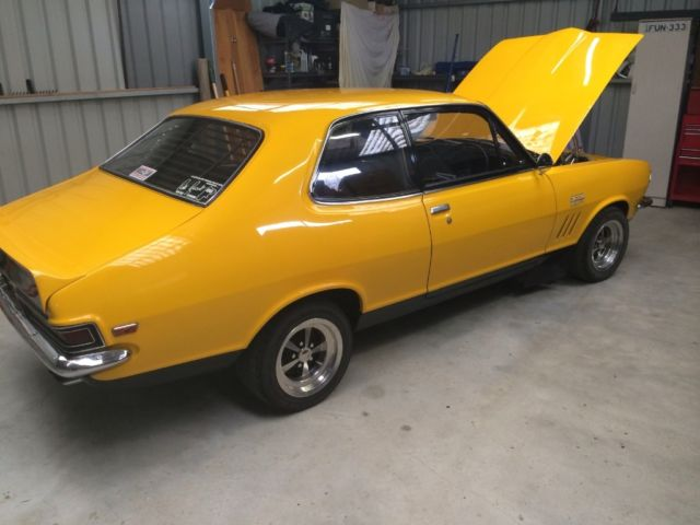 Holden Torana GTR XU-1 (1971) 2D Sedan Manual (3L - 3 Carb)