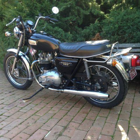 Triumph Bonneville T140E 1979