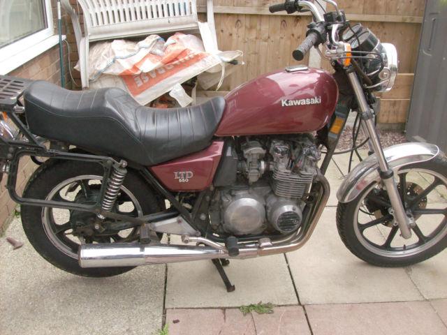 1980 KAWASAKI Z550 LTD