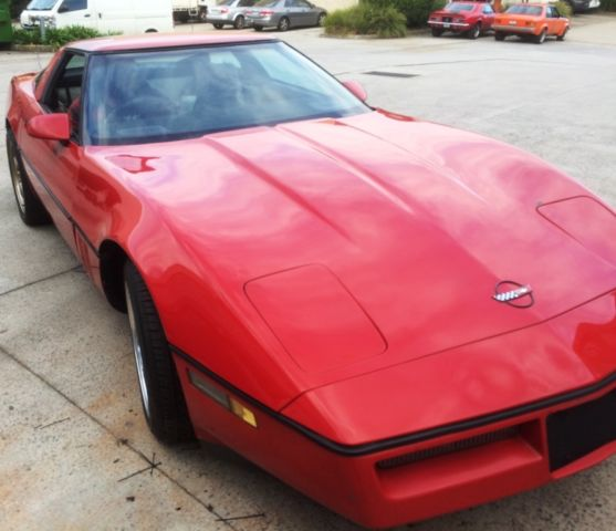 1984 Corvette C4 Auto RHD worked as new 350 chev mechanically A1 paint 8/10