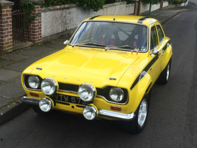 FORD ESCORT MEXICO AVO RALLY TYPE 49 RS2000