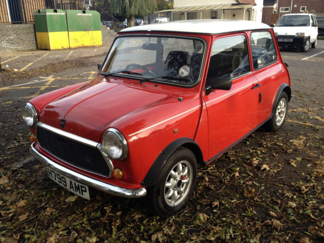 Classic Mini Flame  Red Limited Edition Very Good Original Condition Low Milage