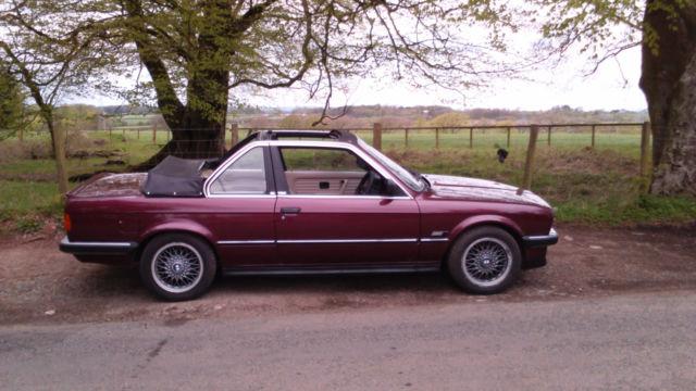 1983 BMW 323 I 'Baur' tc
