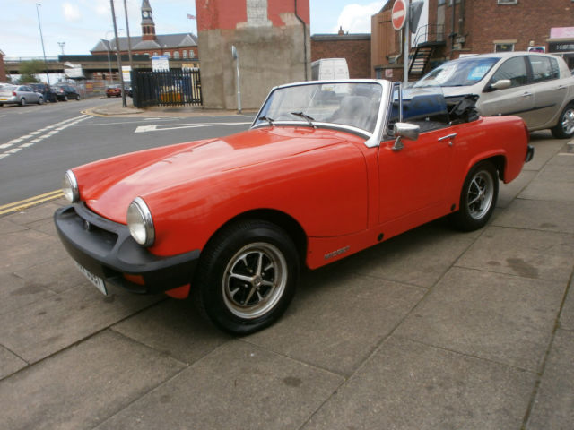 1978 MG MIDGET 1500 RED One Owner only 44,000 miles
