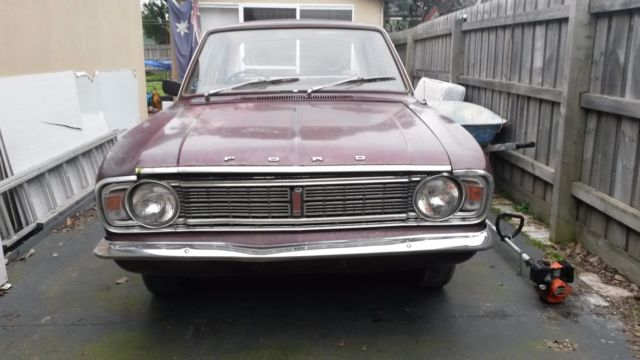 Ford Cortina MK2 1970 440 sedan Automatic running