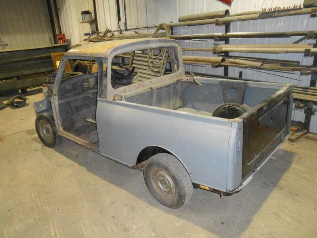 Classic Austin Mini 95 Pick-Up Project