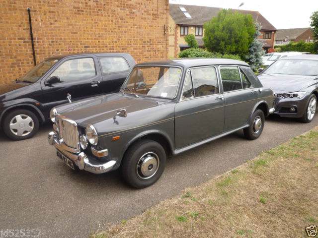 VANDEN PLAS 1300 PRINCESS CARLTON GREY. NOT AUSTIN MORRIS RILEY