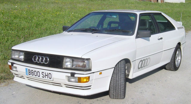 Audi Quattro UR Turbo fine example in white
